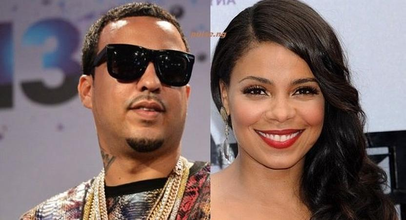 French Montana allagedly dating Sanaa Lathan