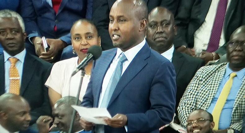 Junet Mohamed given special recognition at BBI launch at Bomas of Kenya