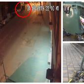 (FOTO, VIDEO) ODELO, ŠEŠIR I KANTA SA BENZINOM U RUCI Ko je piroman koji hara po Šapcu i svake noći pali kontejnere?
