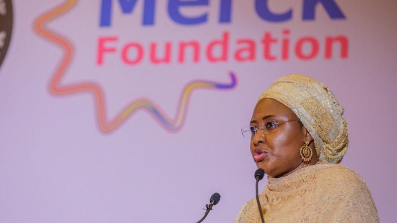 First Lady Aisha Muhammadu Buhari. [Twitter/@aishambuhari]