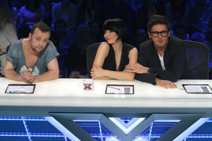 X Factor 2012 - Mozil, Okupnik i Wojewódzki