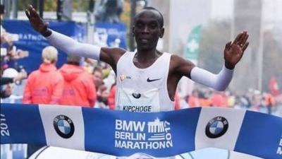 Eliud Kipchoge breaks World Record