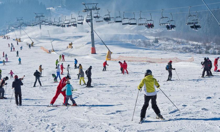 narciarze