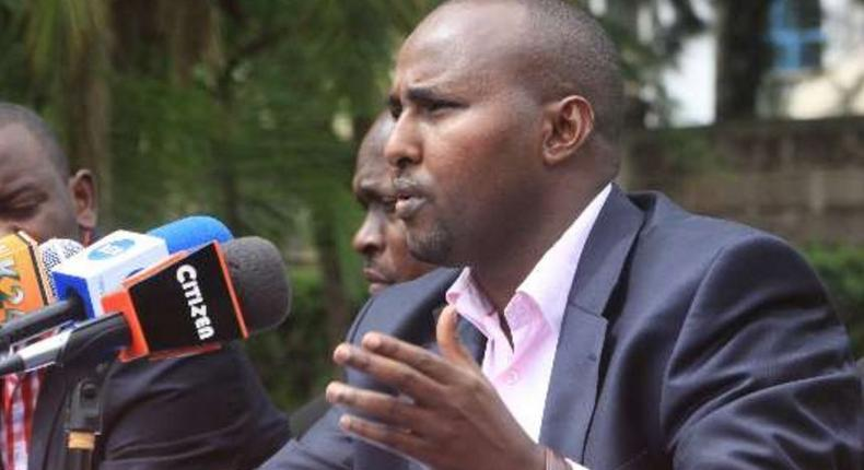 ODM Party Director of Elections Junet Mohamed