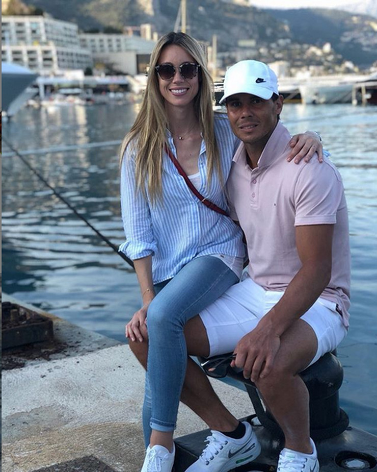 Marija Izabel i Rafael Nadal