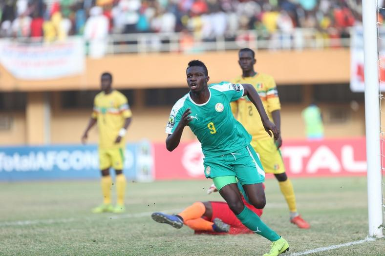 Amadou Ndiaye scored to bring Senegal back to the game (CAF)