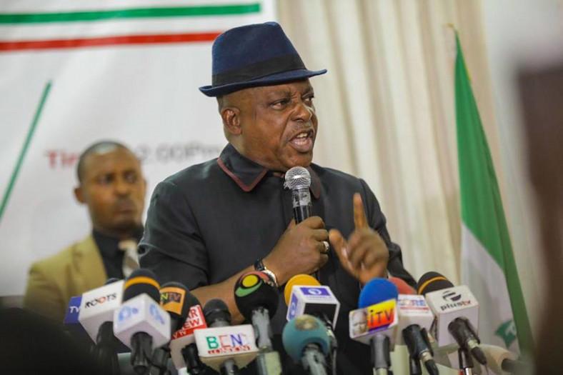 PDP Chairman, Uche Secondus [PDP]