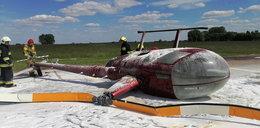 Dramatyczny wypadek śmigłowca na Lubelszczyźnie. Wyglądało to strasznie! Finał zaskakuje
