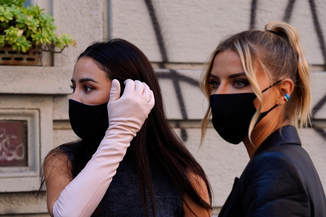 Tamara Kalinić (levo) u Londonu