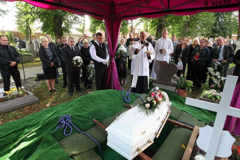 Pogrzeb zamordowanej Klaudii