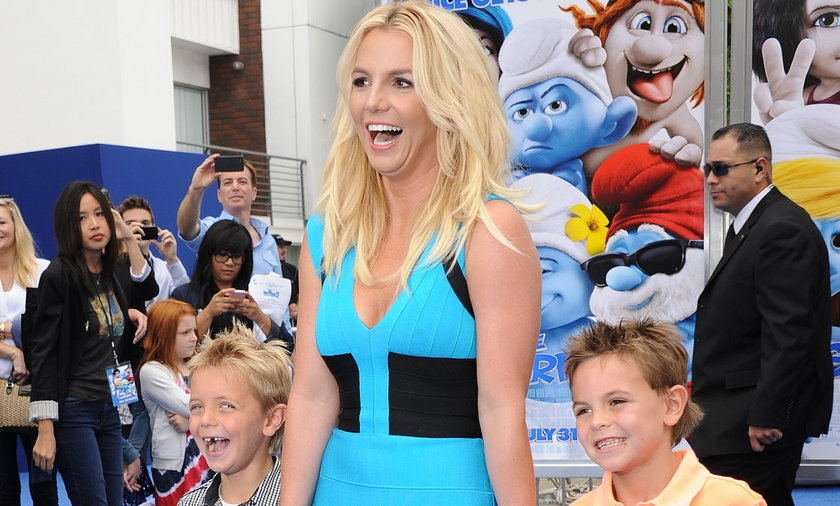 Britney Spears i jej synowie kilka lat temu. Teraz chłopcy mają 15 i 16 lat.