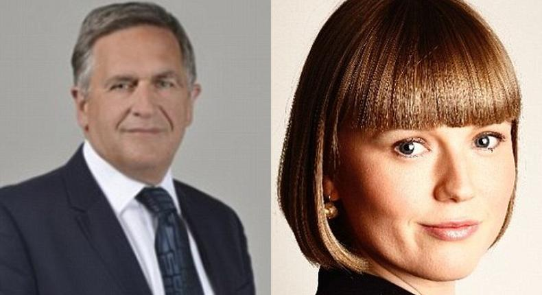 human rights lawyer, Charlotte Proudman, attacks lawyer, Alexander Crater-Silk for referring to his grown daughter as 'hot' and calling her stunning
