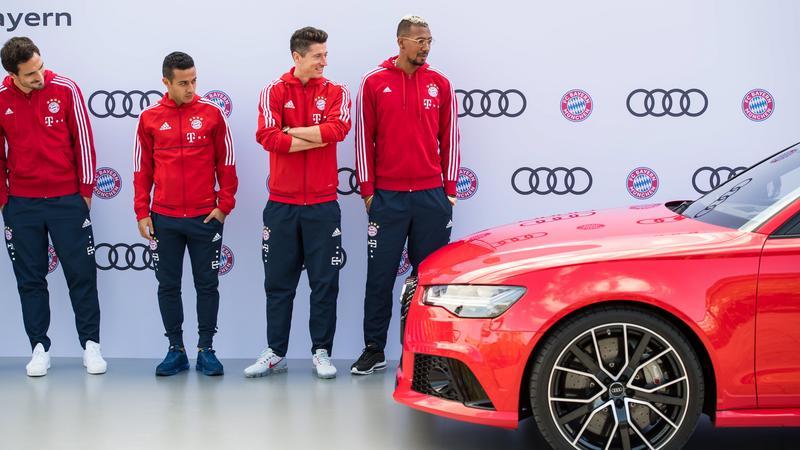 GERMANY SOCCER AUDI (FC Bayern Munich vehicle handover)