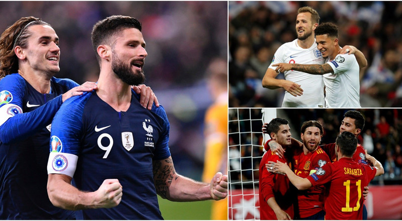 The 20 nations that have qualified for Euro 2020 so far, how they made it, and who their star player has been