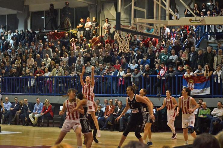 ŽKK Crvena zvezda, ŽKK Partizan