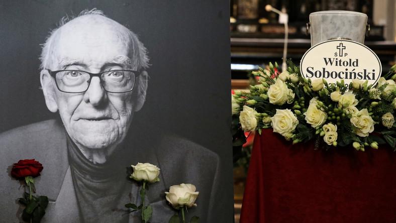 Pogrzeb Witolda Sobocińskiego