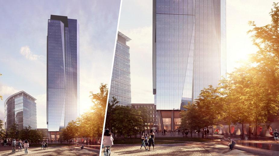 W Warszawie wyrośnie nowy wieżowiec, oto The Bridge
