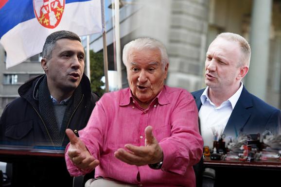 """NE JENJAVA SUKOB U SZS ZBOG BOŠKA OBRADOVIĆA Mićunović: """"Huliganizam Dveri me ne zanima""""; Đilas: """"Imamo samo jednog zajedničkog neprijatelja"""""""