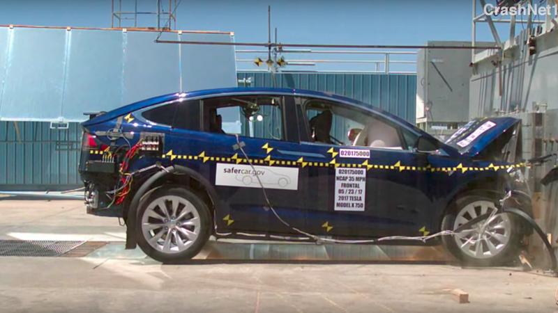 Tesla Model X najbezpieczniejszym SUV'em w USA