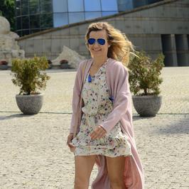 Dawno niewidziana Joanna Koroniewska w letniej sukience. Jak wypadła?