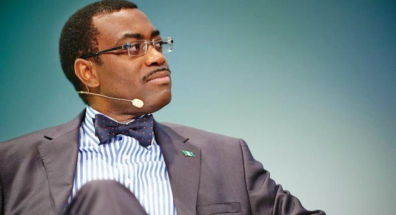 African Development Bank's president, Dr. Akinwumi Adesina
