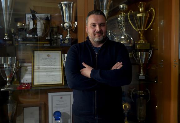 Nemanja Marijan, generalni sekretar Vaterpolo saveza Srbije