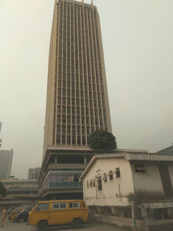 Old Defence House on Lagos Island  Pulse)