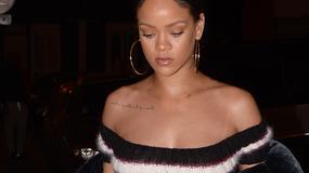 Seksowna Rihanna wie, jak zwrócić na siebie uwagę