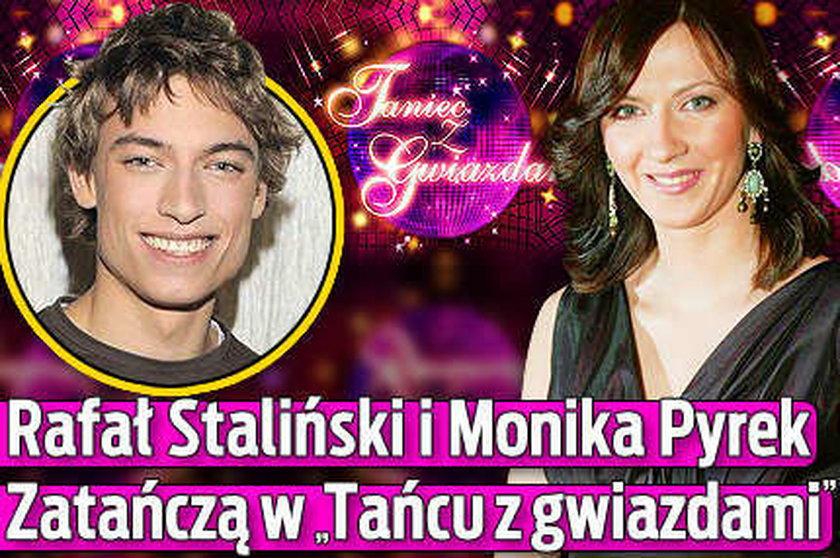 """Pyrek i Staliński w """"Tańcu z gwiazdami""""."""