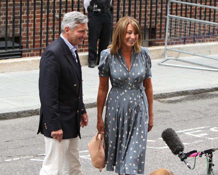 Carole Middleton i Michael Middleton, rodice księżnej Kate