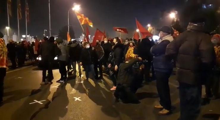 Skoplje VMRO DPMNE protest