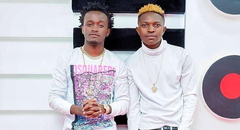 EMB Records's Bahati and Mr. Seed (Instagram)