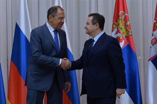 Sergej Lavrov i Ivica Dačić