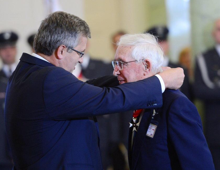 Londyn pożegnał ostatniego dowódcę polskiego dywizjonu płk. Franciszka Kornickiego
