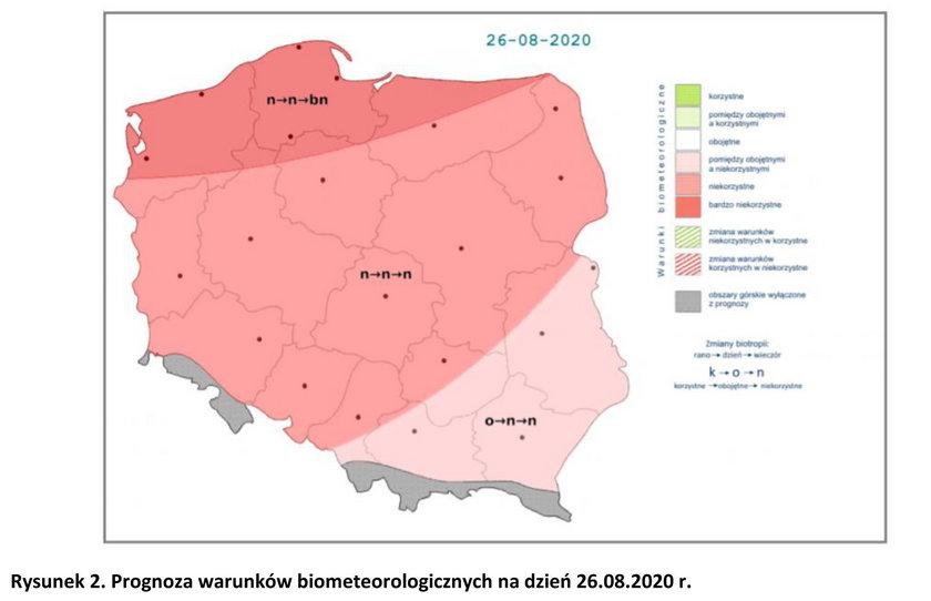 Niebezpieczna pogoda w Polsce