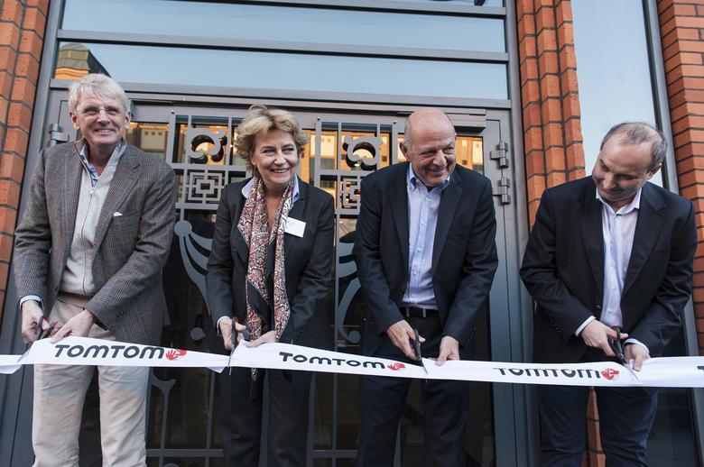 Otwarcie nowego budynku ośrodka inżynieryjnego TomTom w Łodzi