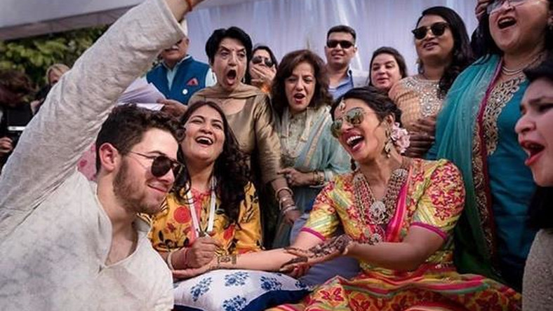 Nick Jonas, Priyanka Chopra and guests at their destination wedding