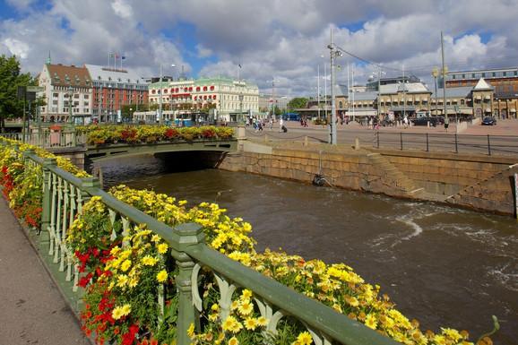 Kanali i cveće su jedno od obeležja Geteborga