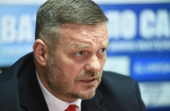 Igor Milojević, direktor VK Crvena zvezda