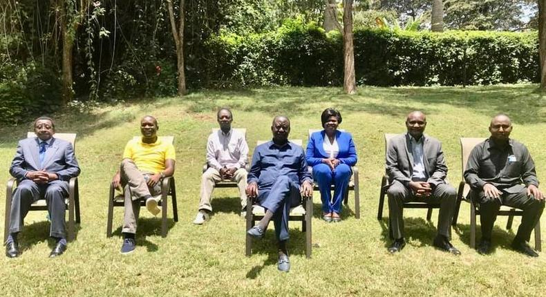 Details of Raila's meeting with ODM leadership after Recovery
