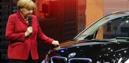 BMW dało pieniądze na partię Merkel
