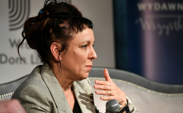 Olga Tokarczuk we Wrocławiu