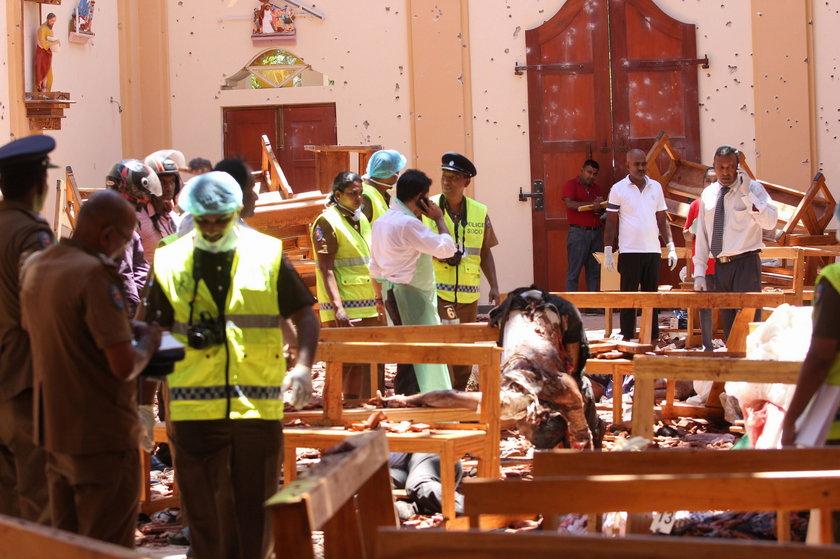 Liczba ofiar zamachów na Sri Lance zmalała