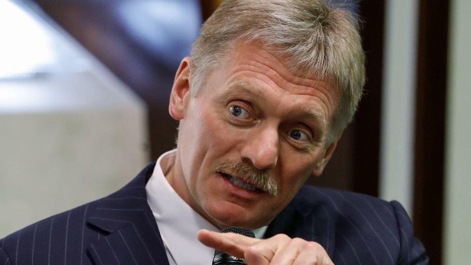 Rzecznik Kremla Dmitrij Pieskow