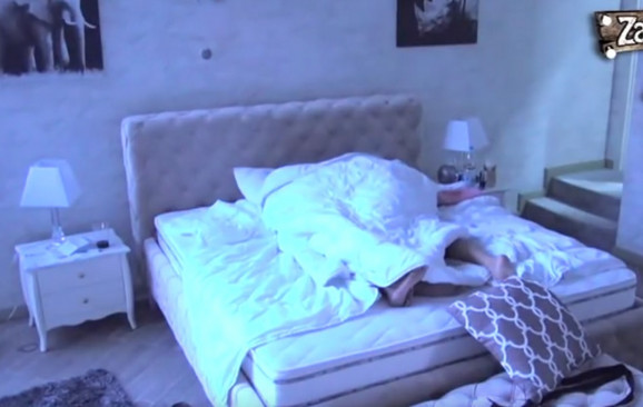 Bane i Zerina u krevetu