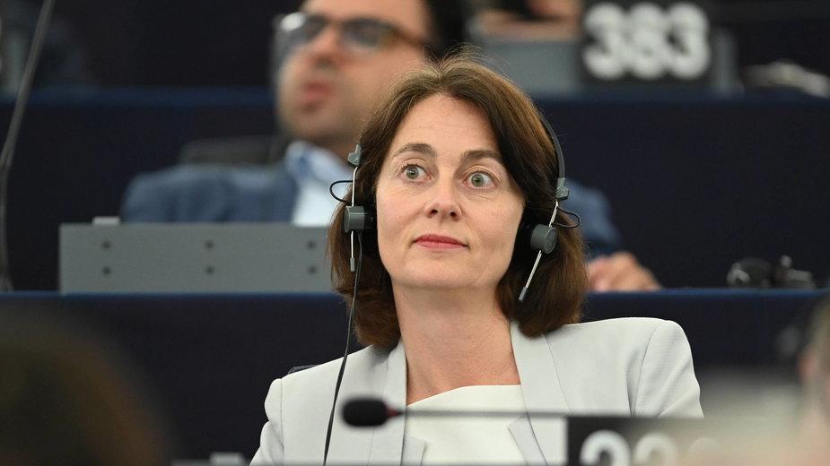 Wiceprzewodnicząca Parlamentu Europejskiego Katarina Barley