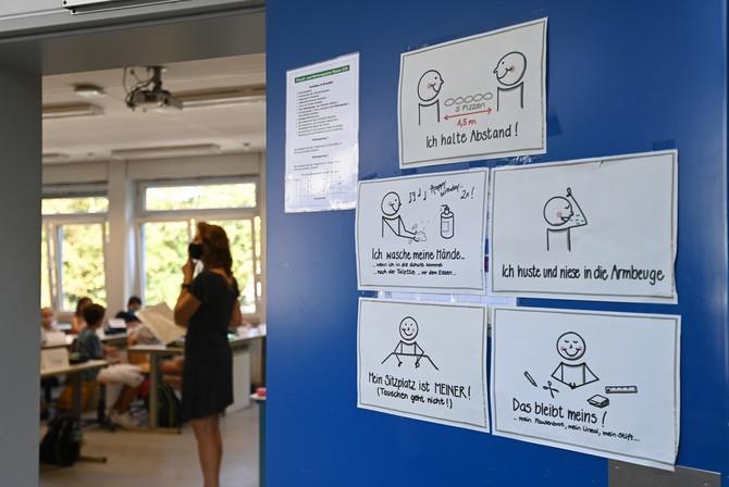 Pravila o merama na vratima škole u Nemačkoj