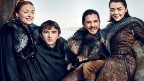 """""""Gra o tron"""": Starkowie na nowych zdjęciach i okładkach """"Entertainment Weekly"""""""