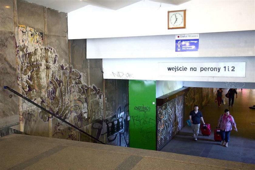 Remont dworca w Gdańsku