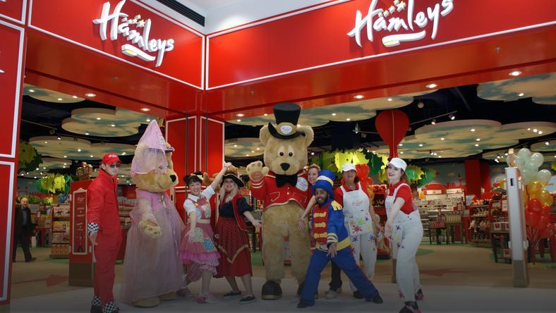 Hamleys – legendarny brytyjski sklep z zabawkami wreszcie w Polsce